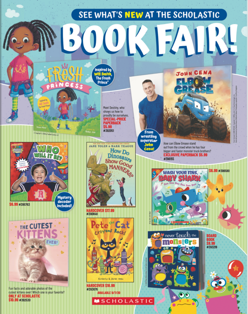 Scholastic Book Fairs Digital Flyer